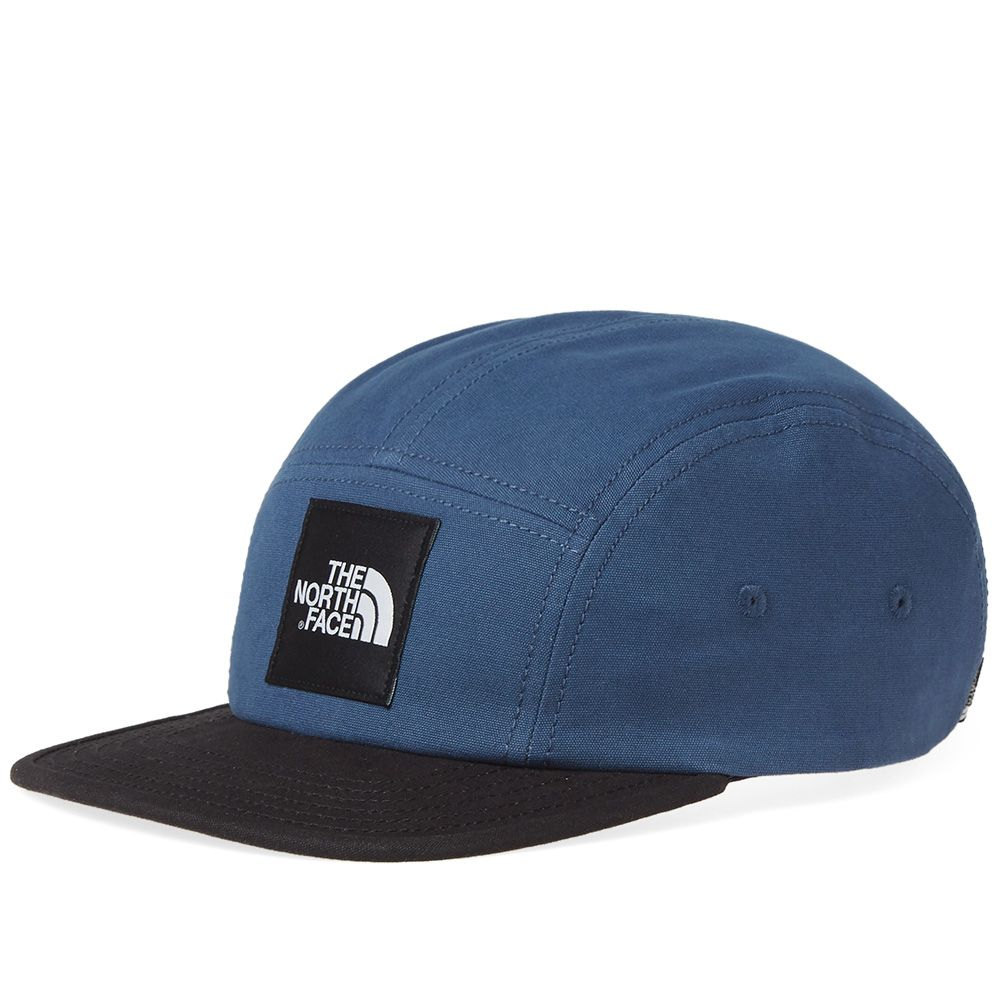 The North Face 5 Panel Ball Cap Blue Wing Teal   TNF Black  0be0a09e44e