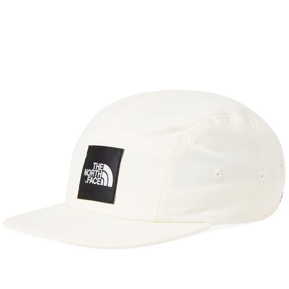 The North Face 5 Panel Ball Cap Vintage White   TNF Black  958c7d0862b
