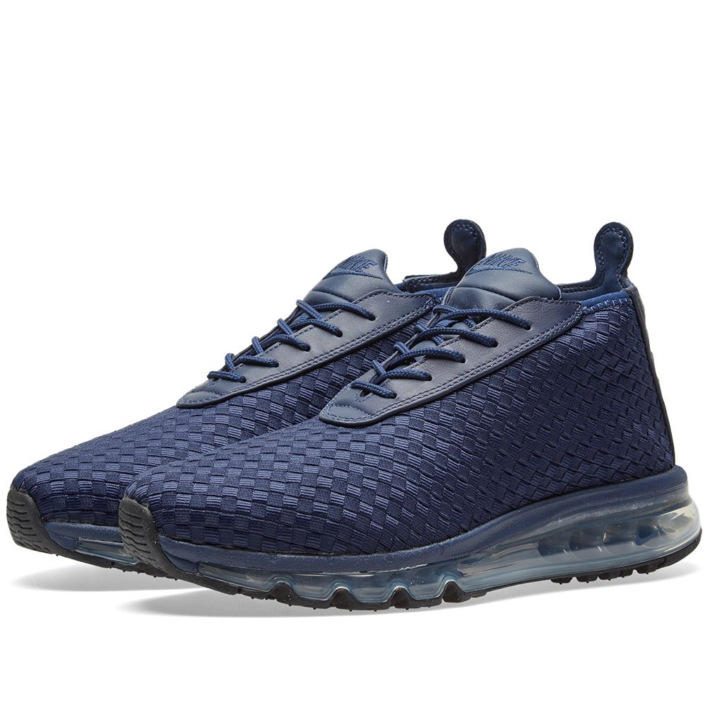 brand new 7e9fa 57a2a Nike Air Max Woven Boot. Midnight Navy. CA 229 CA 125. Plus Free Shipping.  image