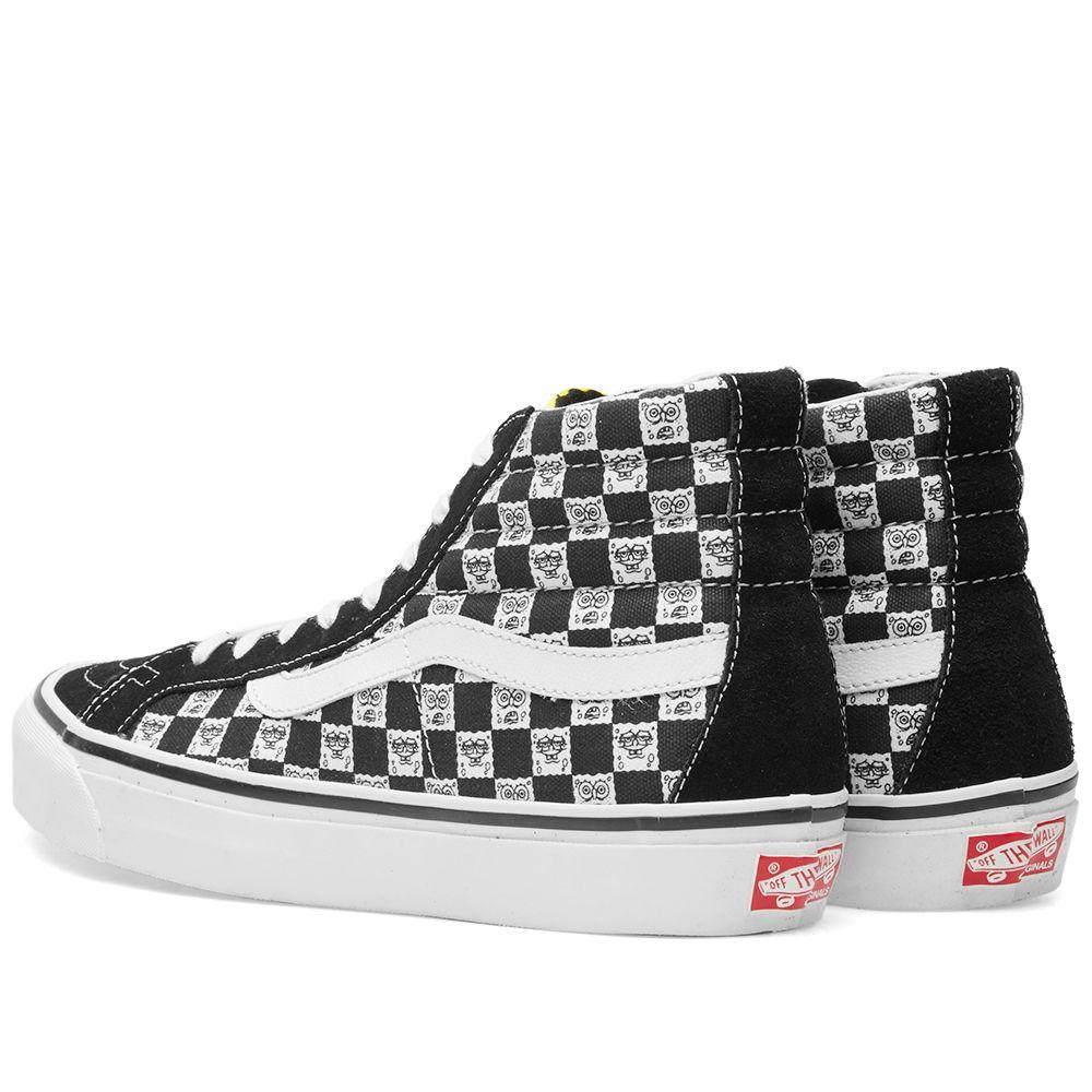 2941b8f57de0a1 Vans Vault x Spongebob OG Sk8-Hi LX Checkerboard