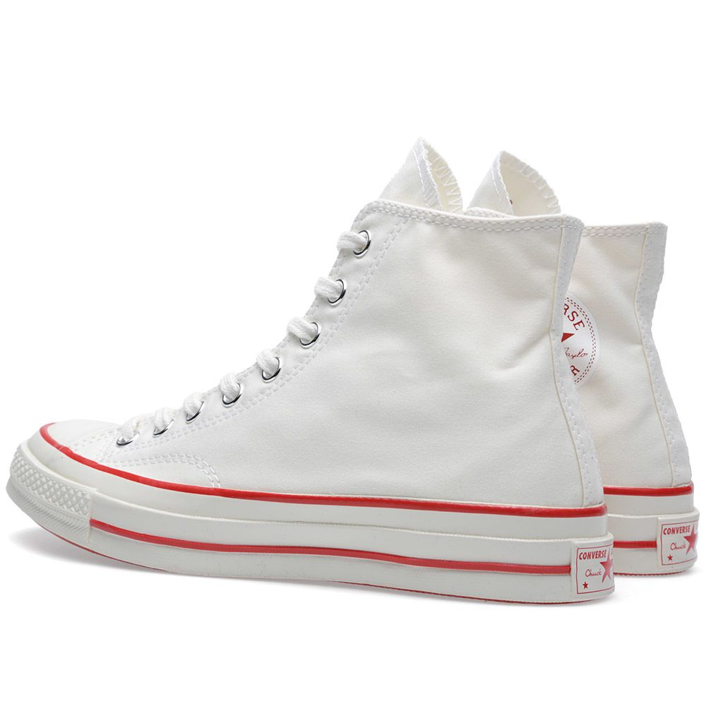 2090750bc8f5 Converse 1st String x Nigel Cabourn Chuck Taylor 1970 Hi White   Red ...