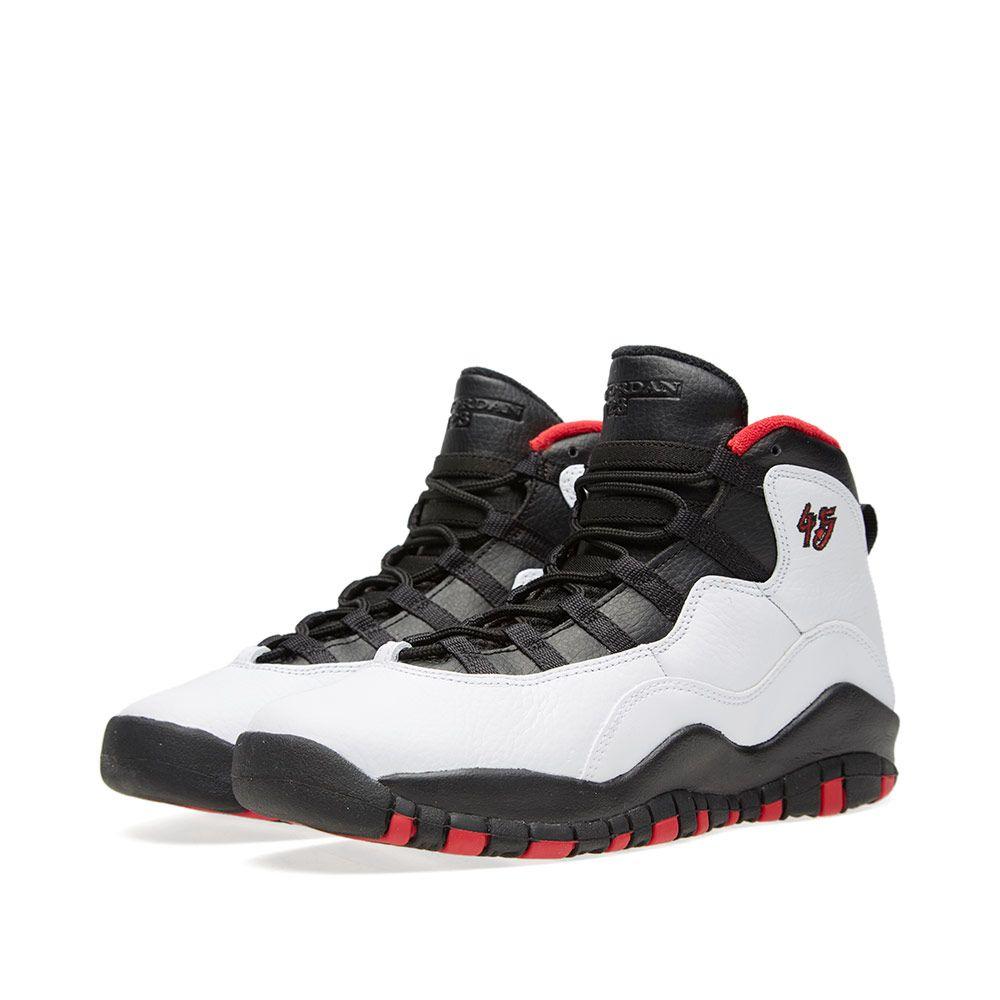 33d2aeb8e117 Nike Air Jordan X Retro GS  Double Nickel  White