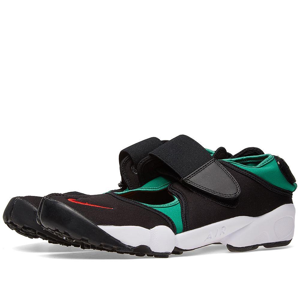 Nike Air Rift QS Black   Atomic Red  6a9fa4228