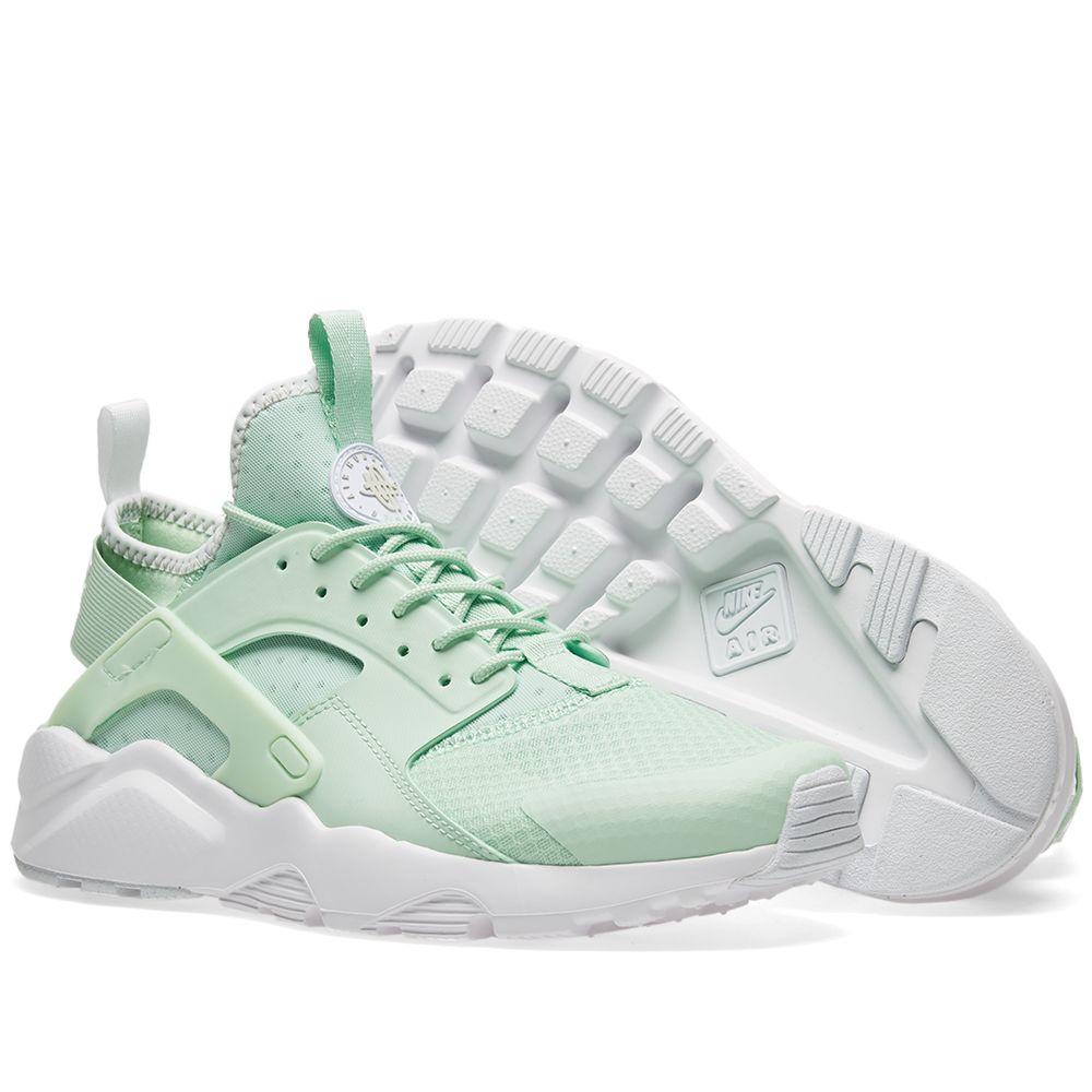 6124557e2ba16 Nike Air Huarache Run Ultra Fresh Mint   Pale Grey