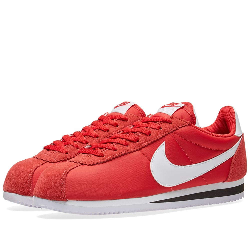 buy popular fe12e 4b06b Nike Classic Cortez Nylon OG University Red   White   END.