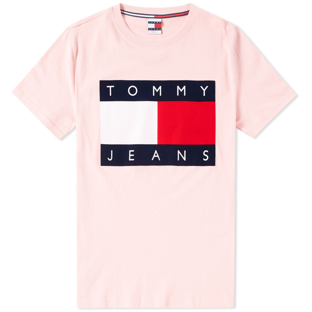 8571ec91 homeTommy Jeans 90s Flock Tee. image. image. image. image. image. image.  image