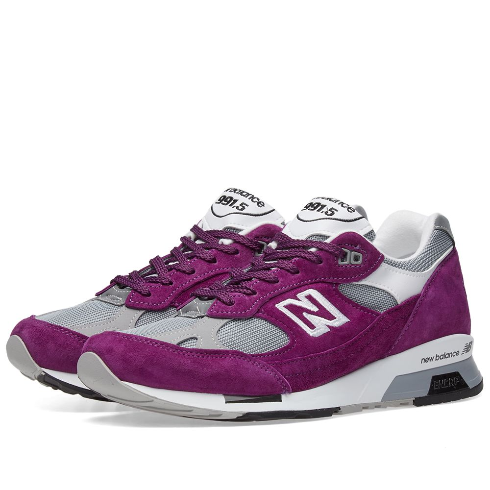 huge selection of 2f7a5 cfb46 New Balance M9915CC  991 1500  - Made in England Purple   Grey   END.