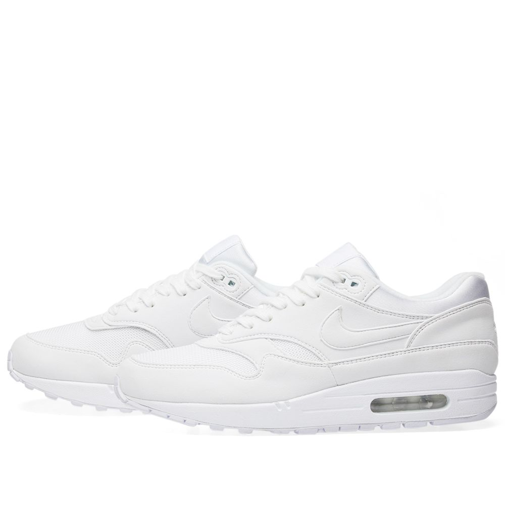0219b37f18e9 Nike Air Max 1 W White   Pure Platinum