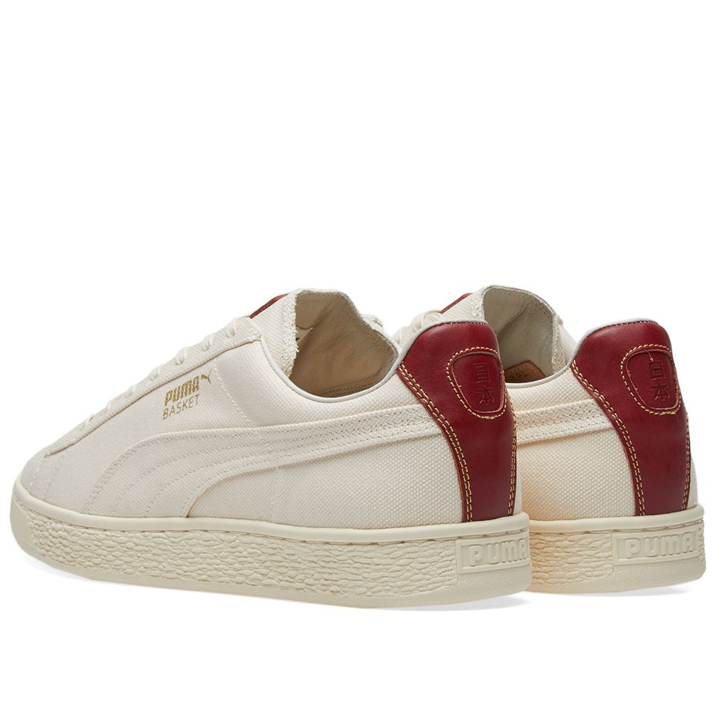 Puma Basket MIJ  YACHTLIFE Whisper White   Red Dahlia  fee2cce42