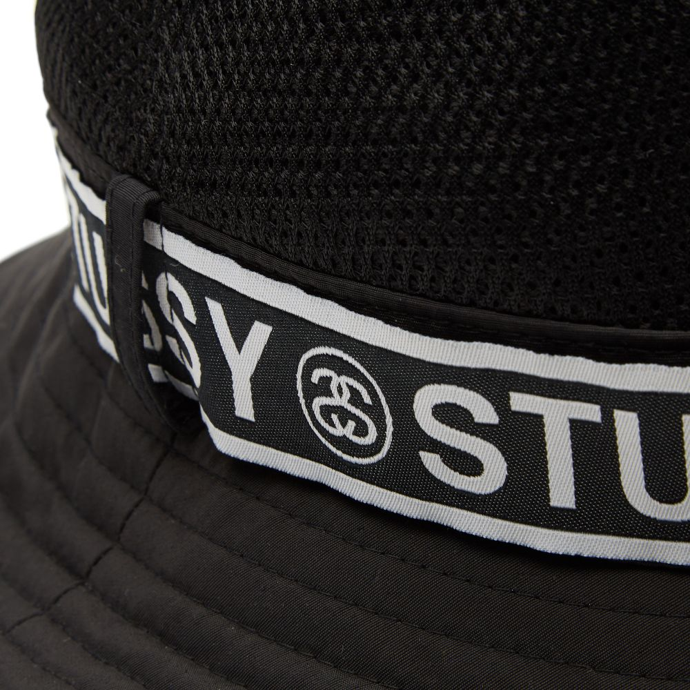 Stussy Band Bucket Hat. Black. £55 £29. image 9d840a3c642