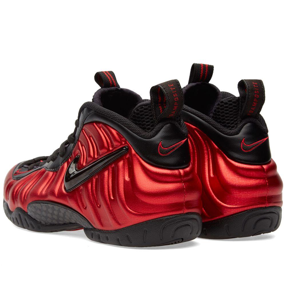 caead9805b064 Nike Air Foamposite Pro University Red   Black