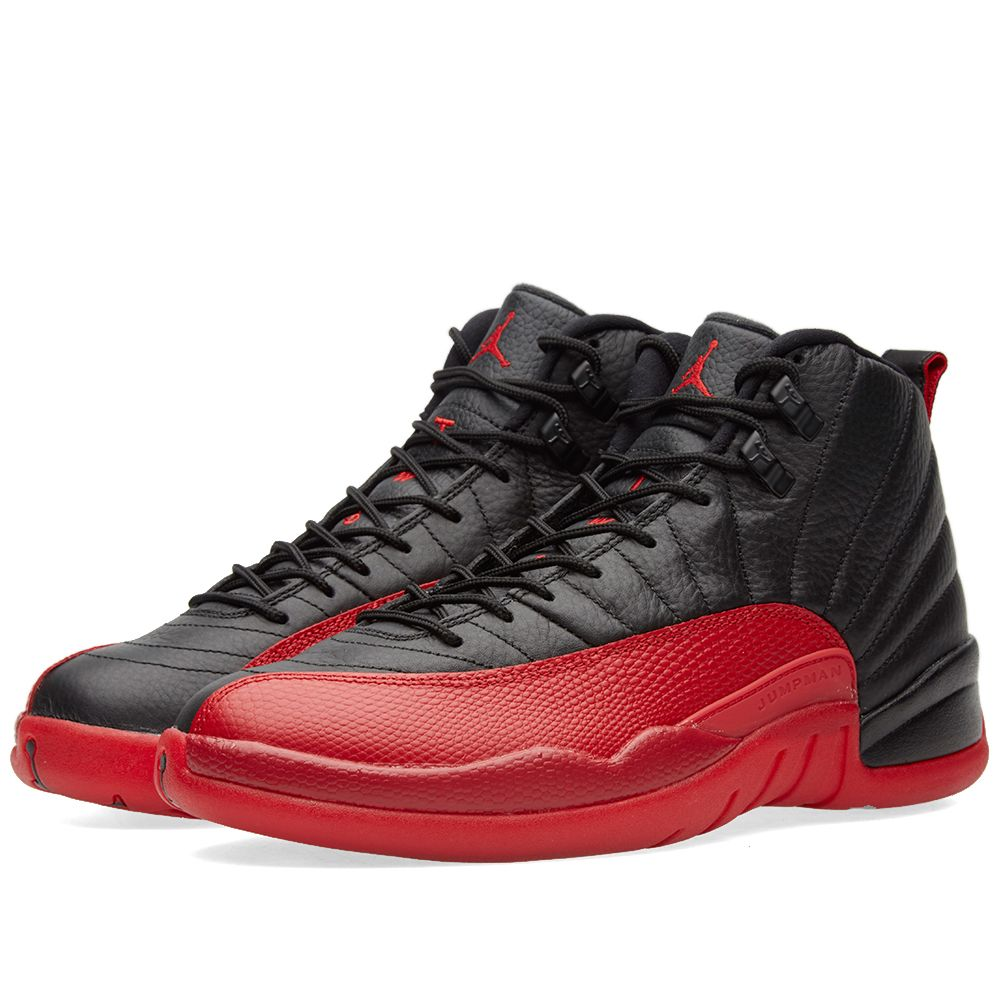 4cb4927c1ed8f6 Nike Air Jordan 12 Retro. Black   Varsity Red. CA 239. image