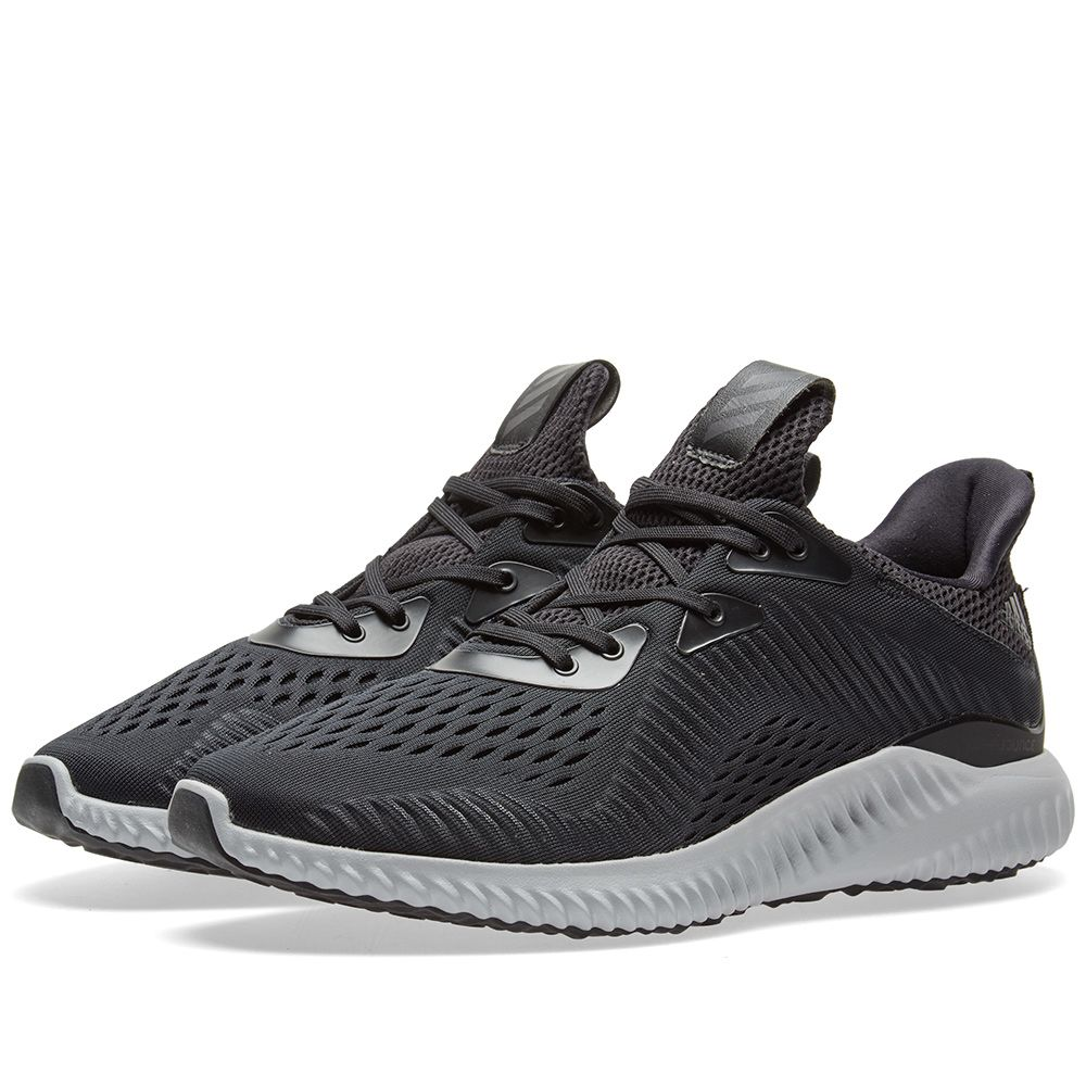 low priced 95f49 c5305 Adidas Alphabounce EM Core Black  White  END.