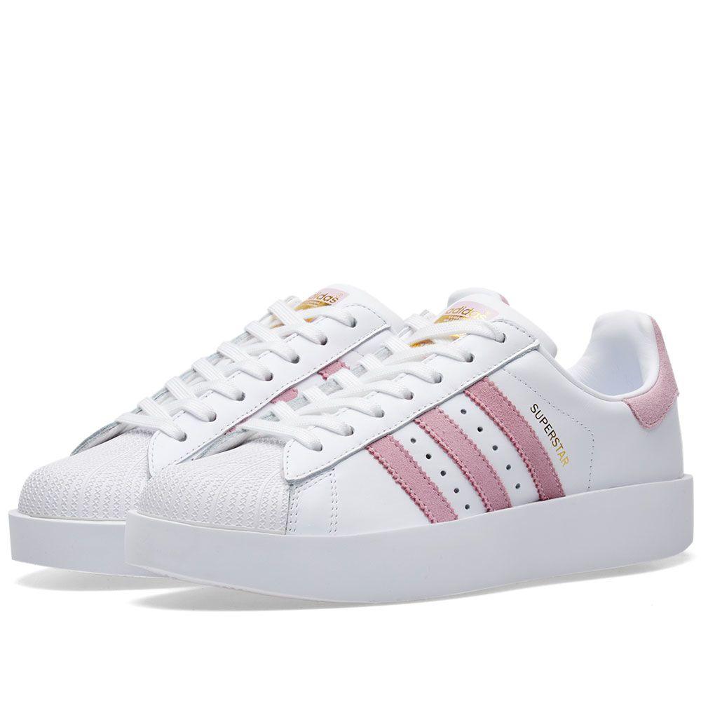 9bb5627f3c8 Adidas Superstar Bold W White   Pink