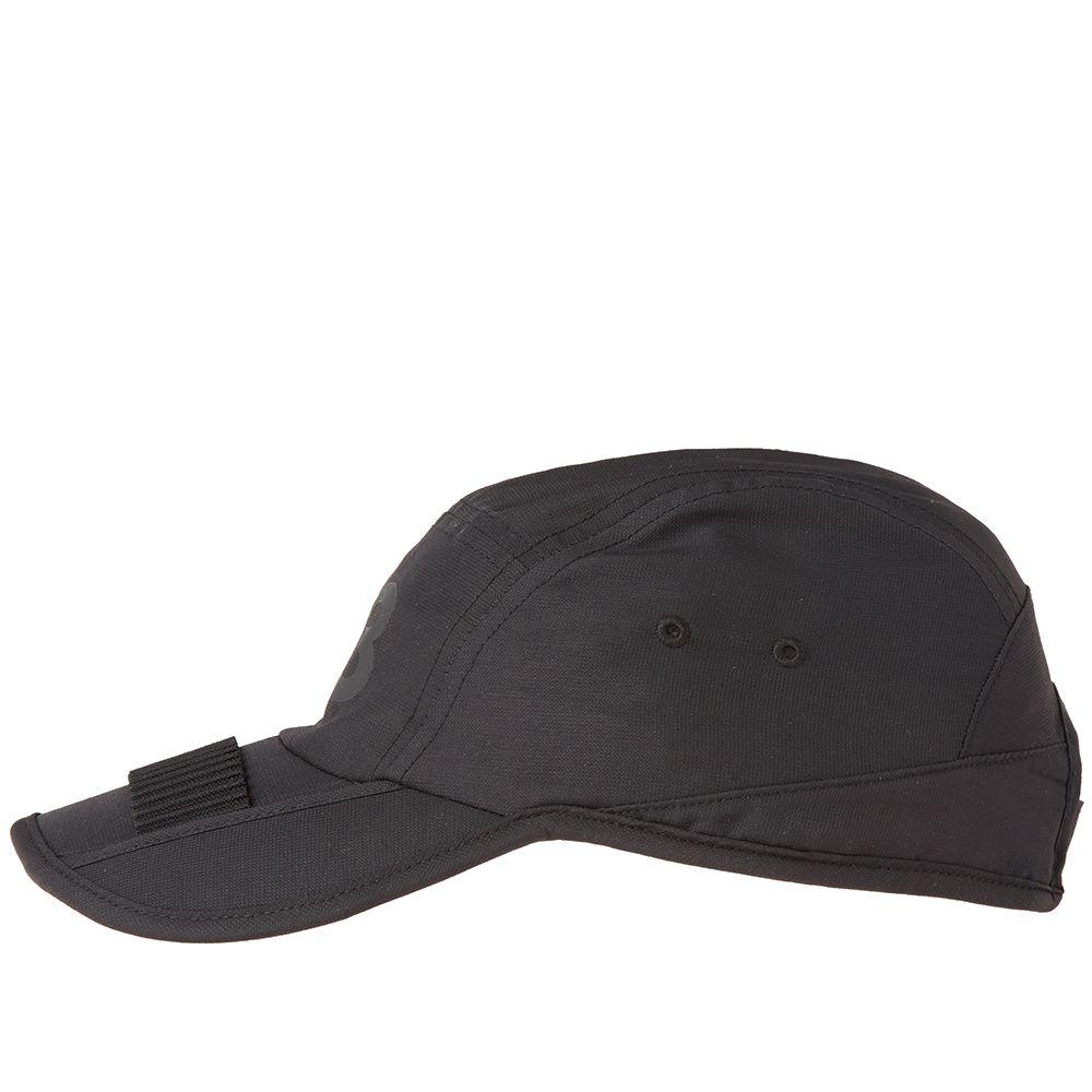 94a18d755b2 Y-3 Foldable Cap Black