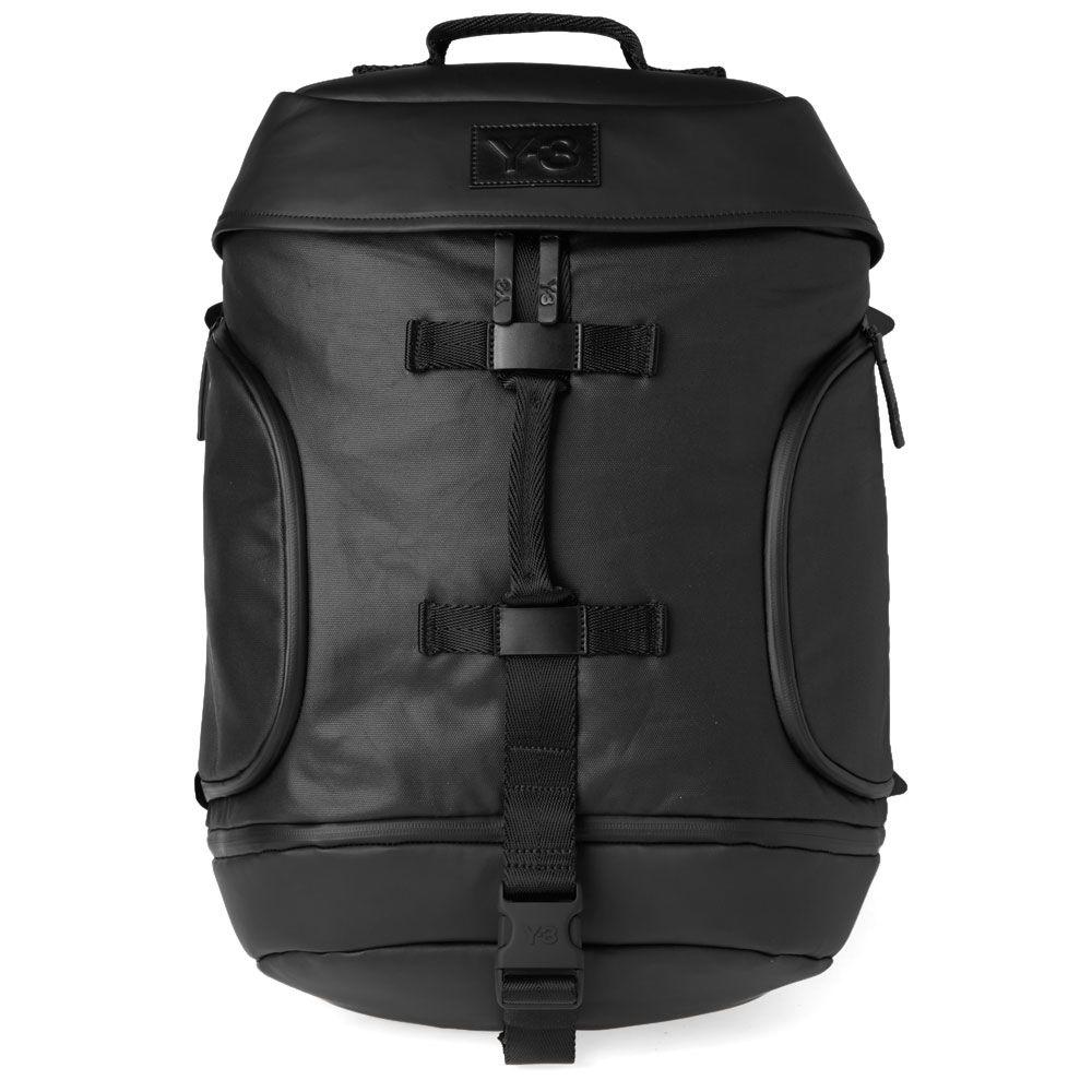 d9ee8dbbf12d Y-3 Icon Backpack Black