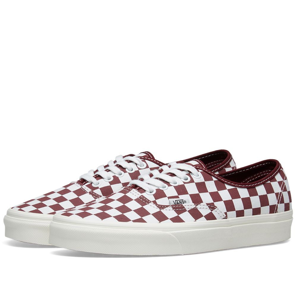 8c44ac3487 Vans Authentic Checkerboard Port Royale   Marsmallow