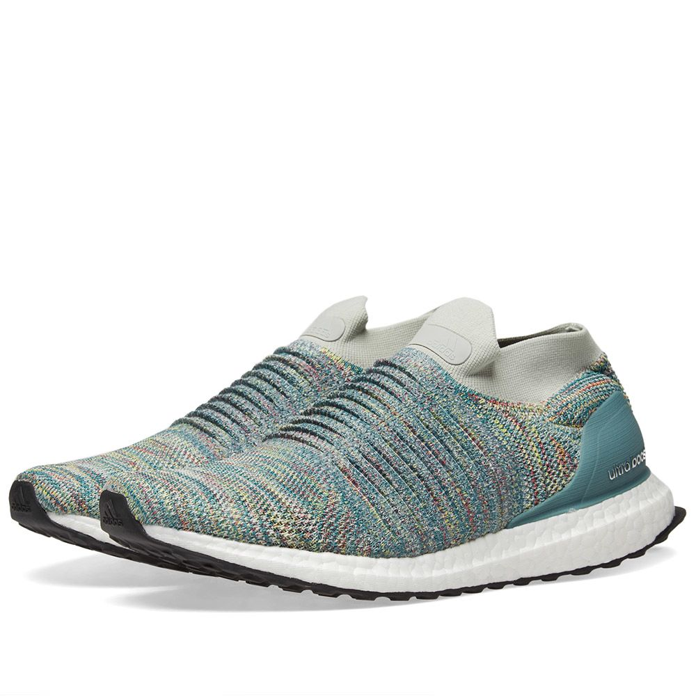 new arrival 02d24 e6c22 Adidas Ultra Boost Laceless Ash Silver  END.