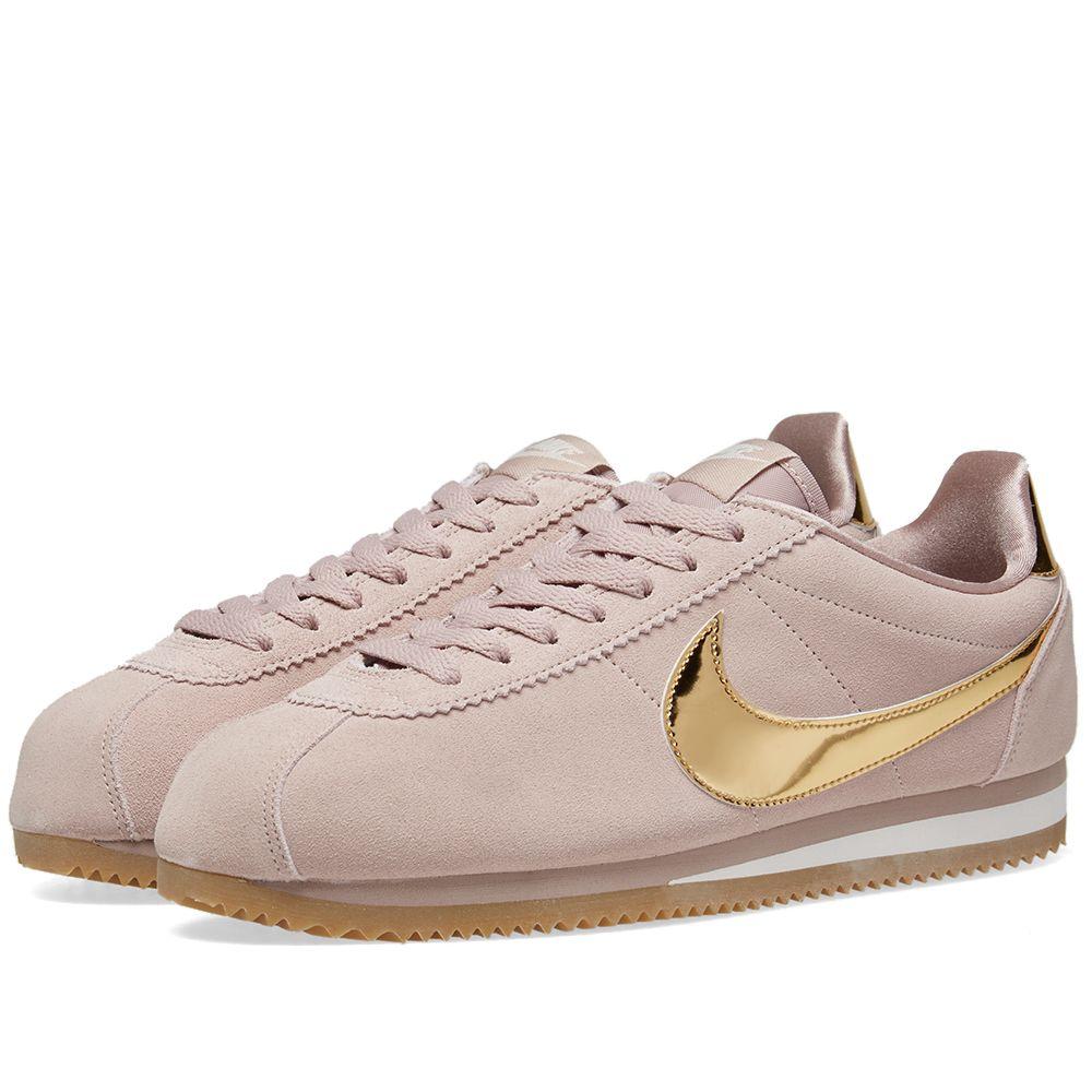 quality design fe1e1 b36fe Nike Classic Cortez SE W Taupe, Gold  Phantom  END.