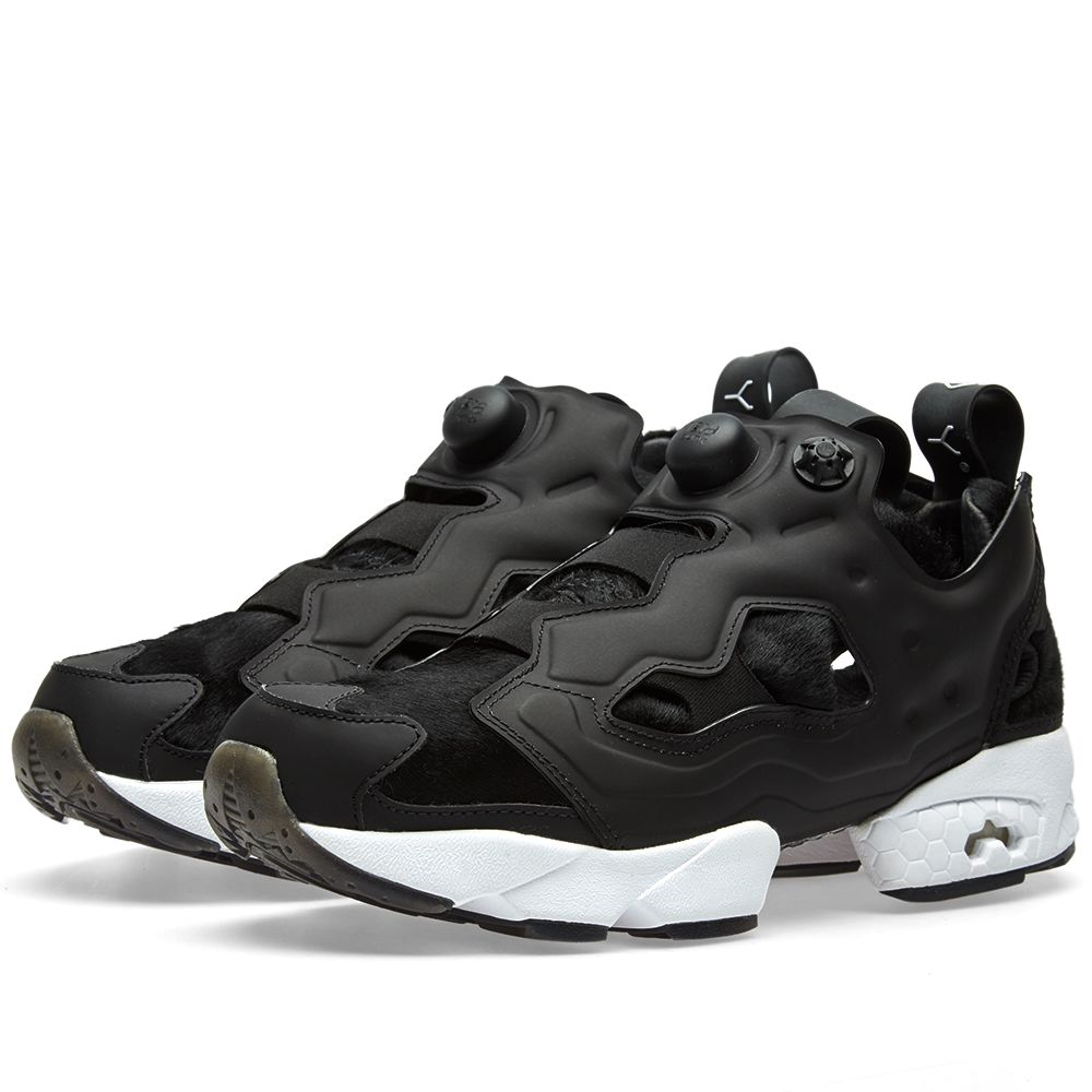 913a7bda6fc Reebok x Sneakerboy Instapump Fury Black   White
