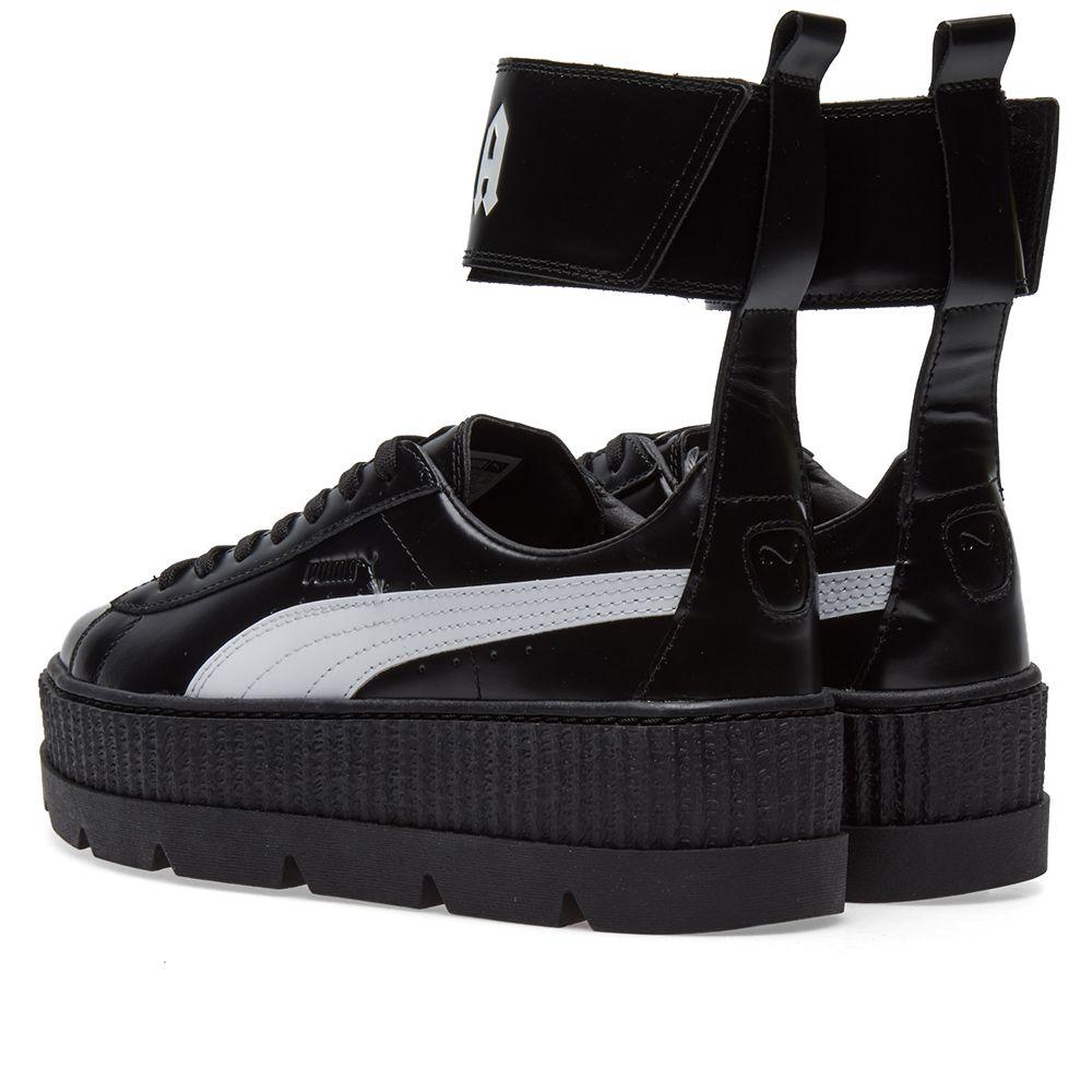 Puma x Fenty by Rihanna Ankle Strap Sneaker Puma Black  1d399d4fc