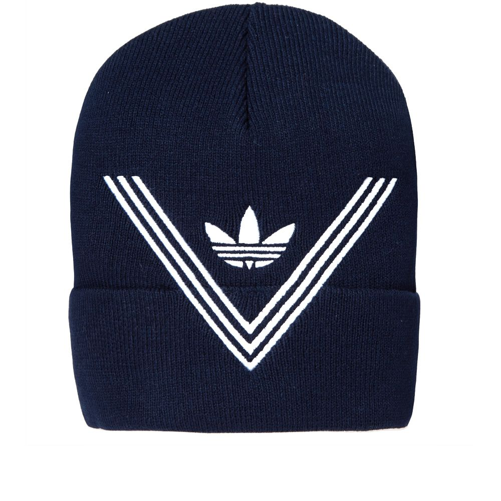 Adidas x White Mountaineering Knit Cap Collegiate Navy  b904107aaf0
