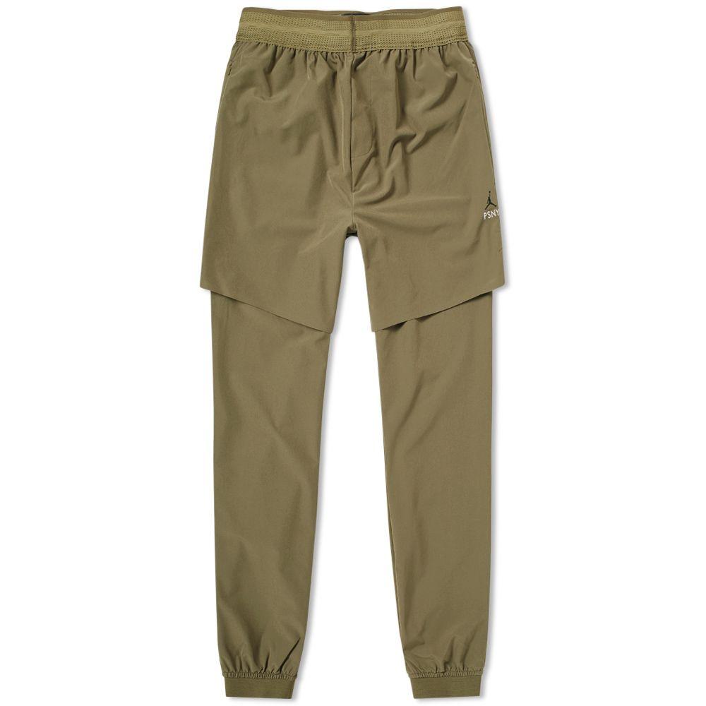 7c09ac3018cfdc Jordan x PSNY 2-in-1 Pant Medium Olive   Black