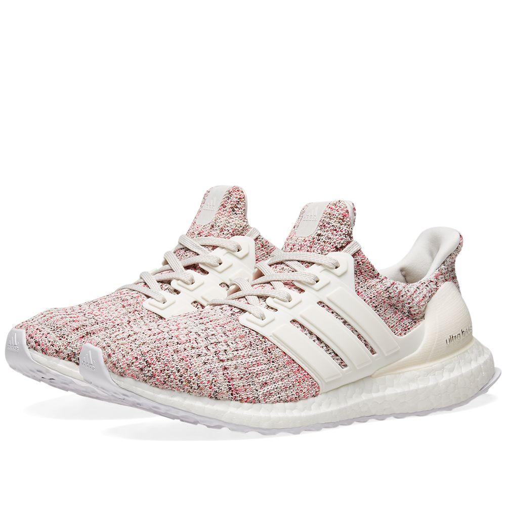 Adidas Ultra Boost W White, Glow & Pink |