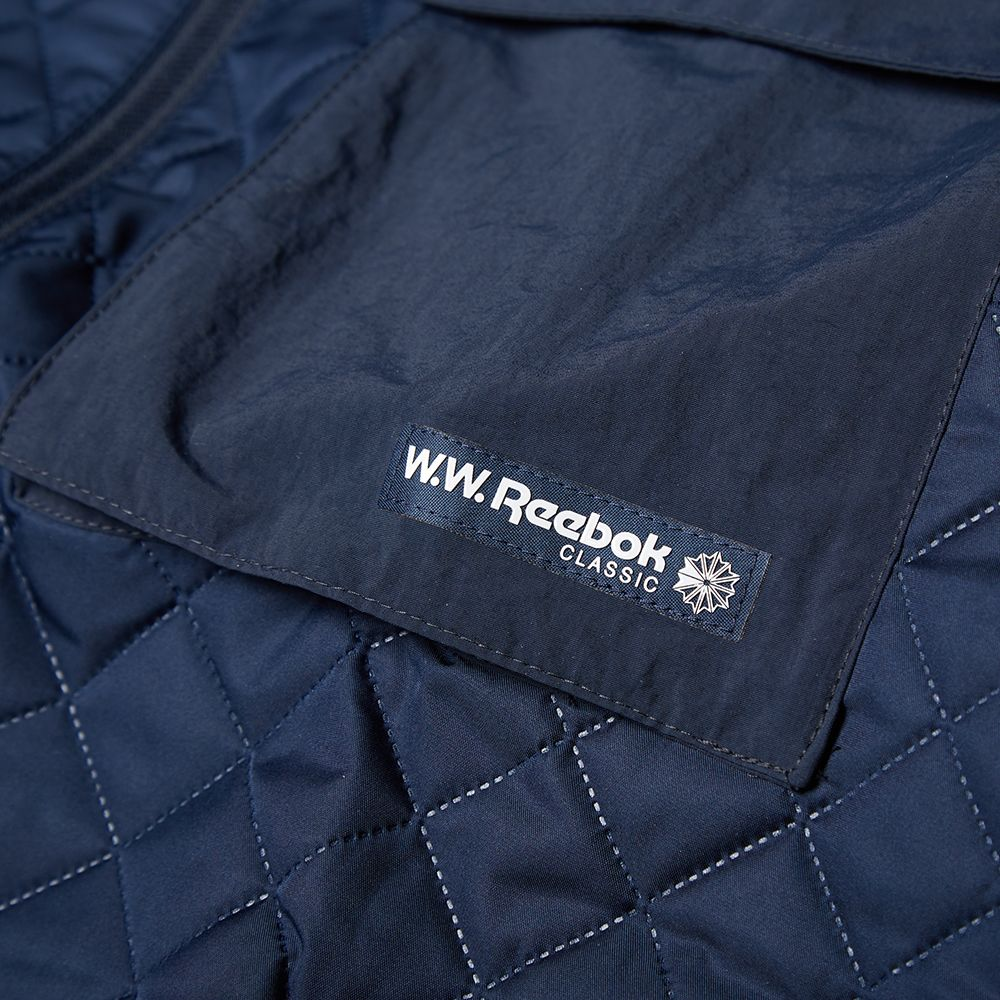 188eb8c46920 Reebok x Wood Wood Padded Jacket Navy