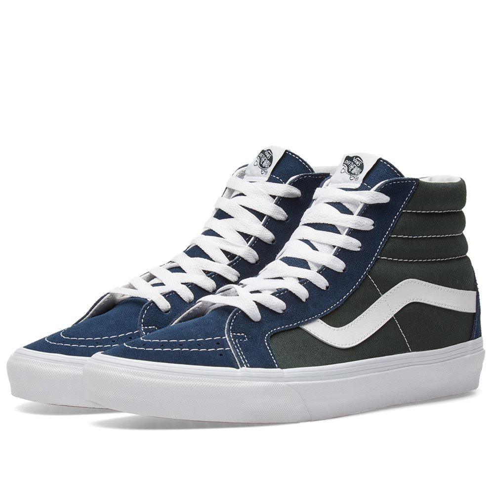 cc38c2eb7d Vans Sk8-Hi Reissue Dress Blue   Scarab