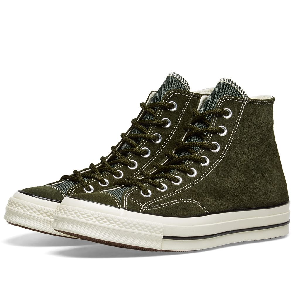 eac9f29107871f Converse Chuck Taylor 1970s Hi Basecamp Suede Utility Green