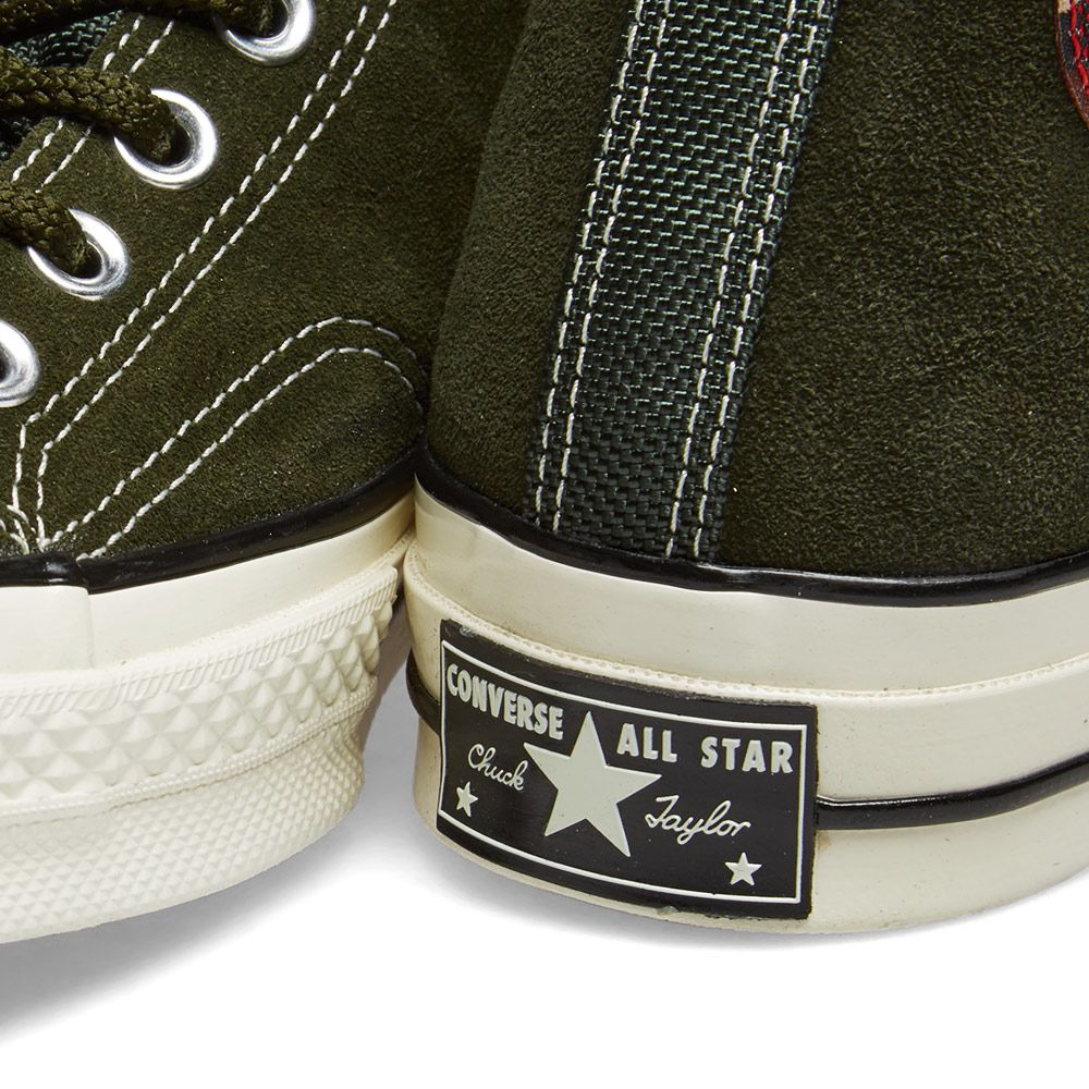 536598c17fd Converse Chuck Taylor 1970s Hi Basecamp Suede. Utility Green ...