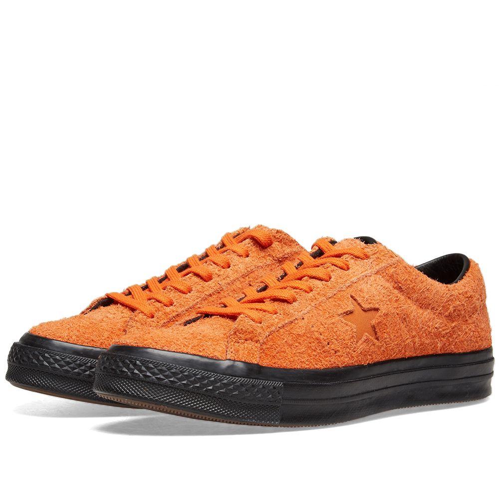 7f1035e480ca41 Converse One Star Ox Orange Tiger   Black