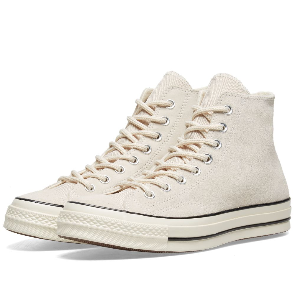 f1611dd2db2d3 Converse Chuck Taylor 1970s Hi Basecamp Suede Natural Ivory