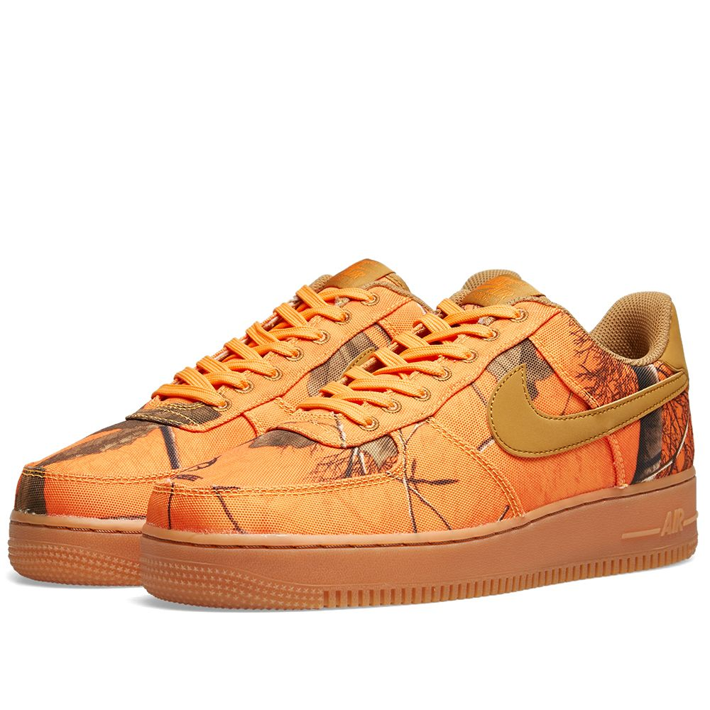 detailing d694a 6908d Nike Air Force 1 07 LV8 3 Realtree Camo Orange Glaze, Wheat
