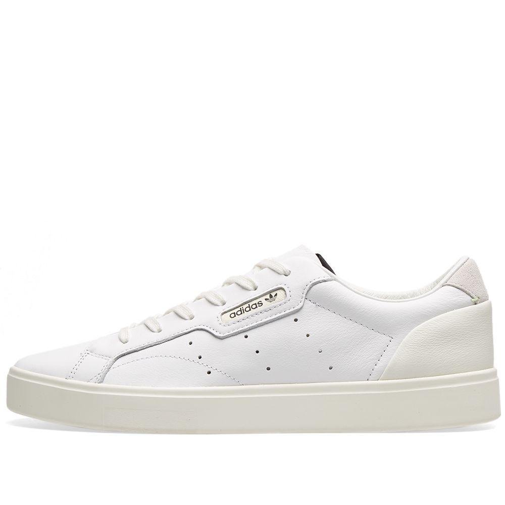 reputable site f501c ad378 Adidas Sleek W White, Off White  Crystal  END.
