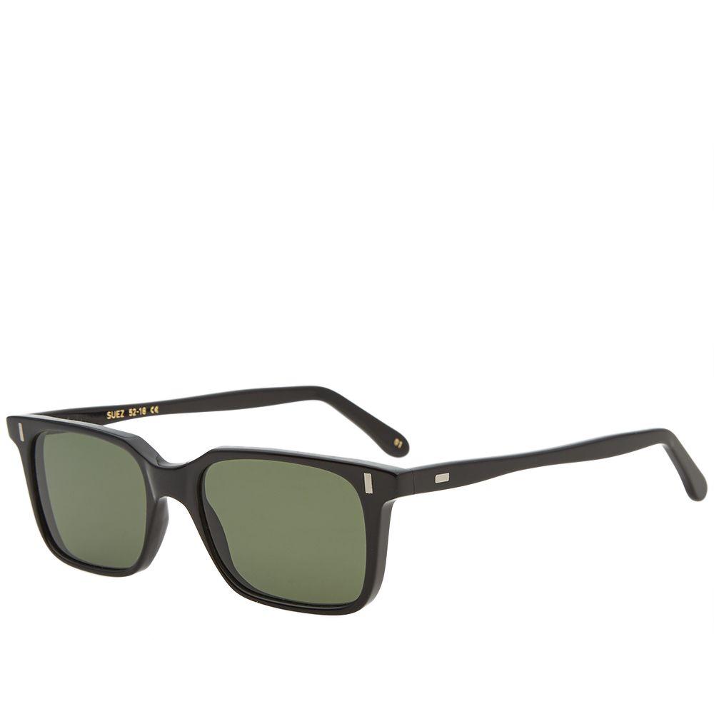 e322ab895b L.G.R Suez Sunglasses Black   Green G15