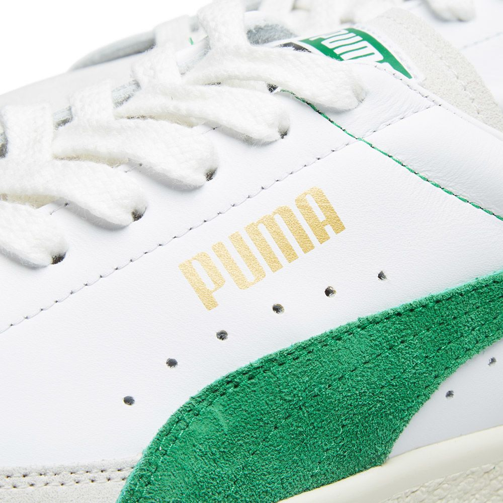 540fb4691f6 Puma Basket 90680 OG White   Amazon Green