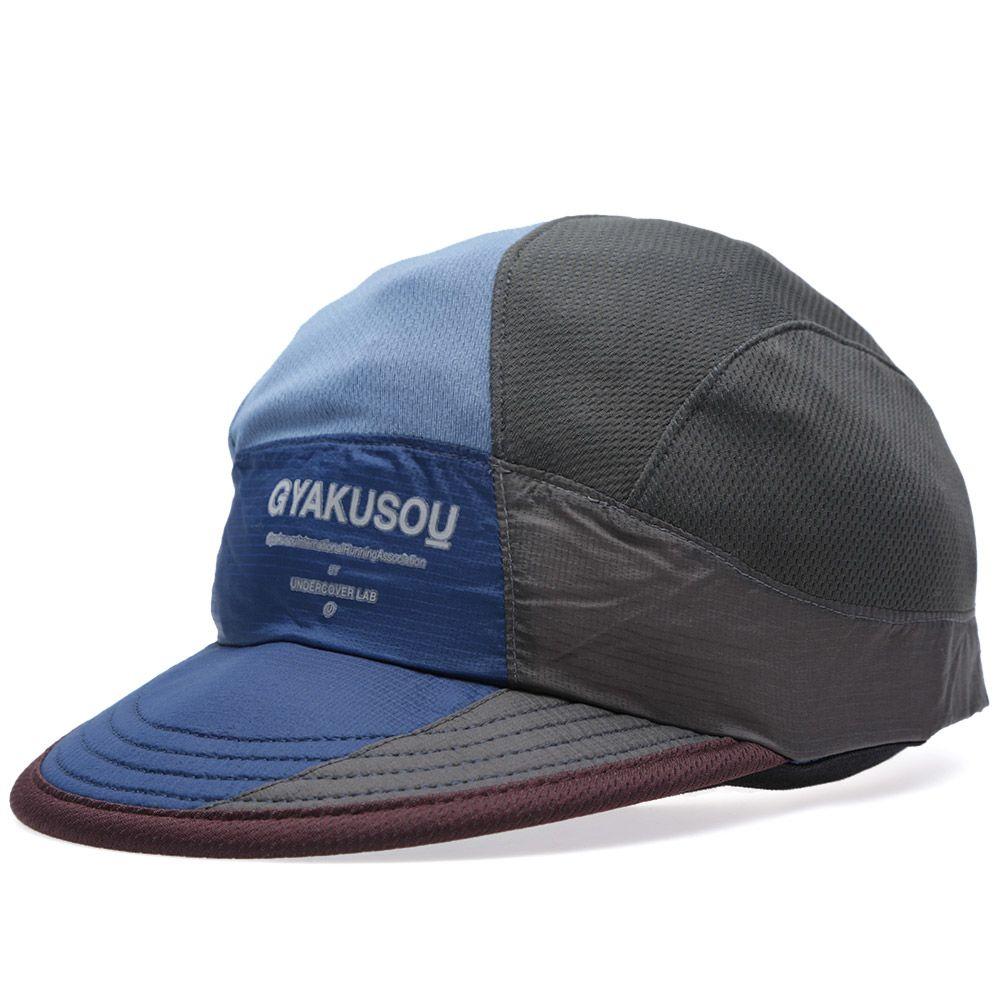 c4b139df1adcf Nike x Undercover Gyakusou AS UC Dri-Fit Mesh Running Cap Brave Blue ...