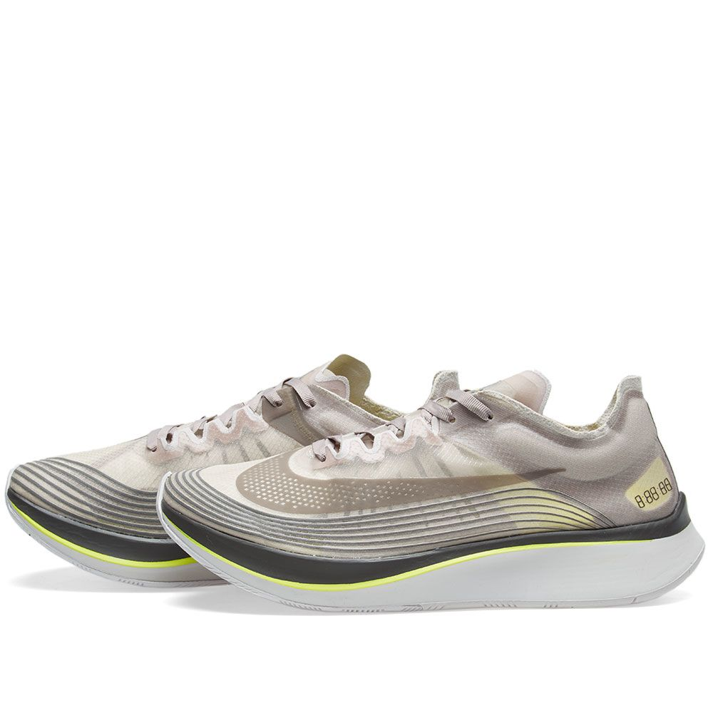 6dffe314867c NikeLab Zoom Fly Sepia Stone   Sonic Yellow