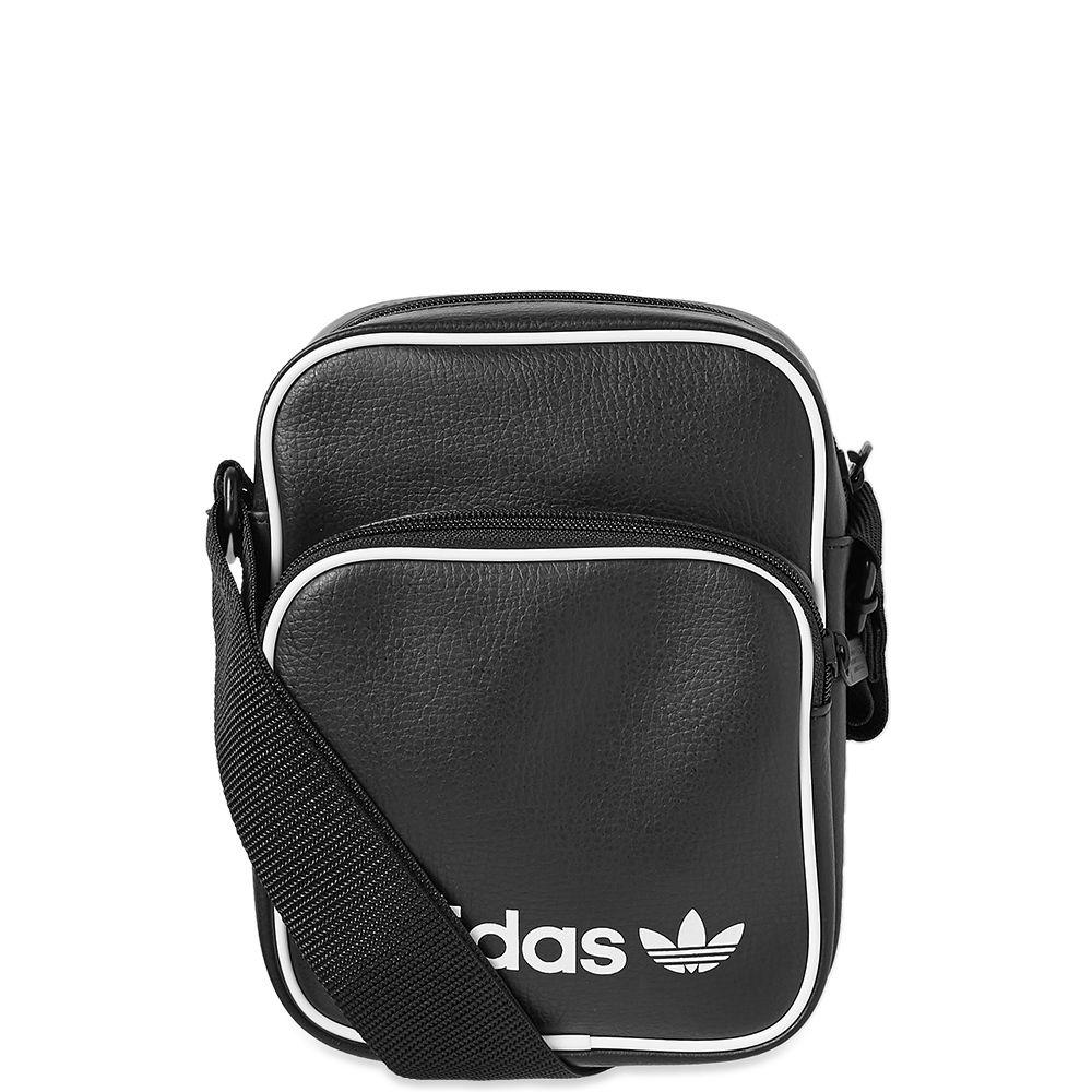 cf63b62c39f1 Adidas Vintage Mini Bag Black