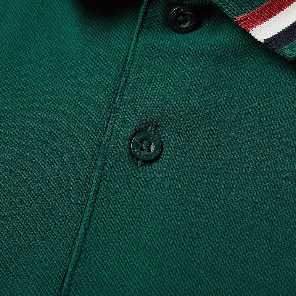 628b29e4 Fred Perry Bomber Stripe Pique Polo Ivy | END.