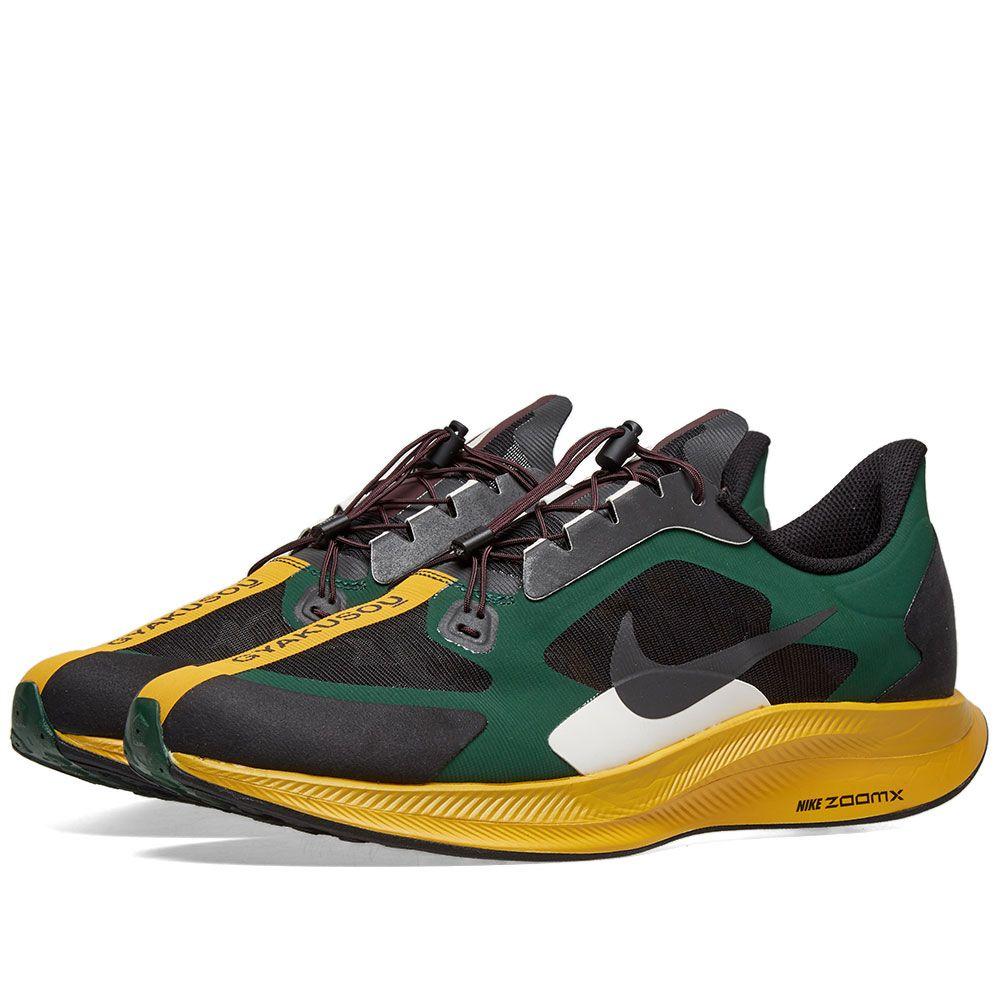 size 40 8518d 86fba Nike x Gyakusou Zoom Pegasus 35 Turbo Black, Gold Dart  Burg