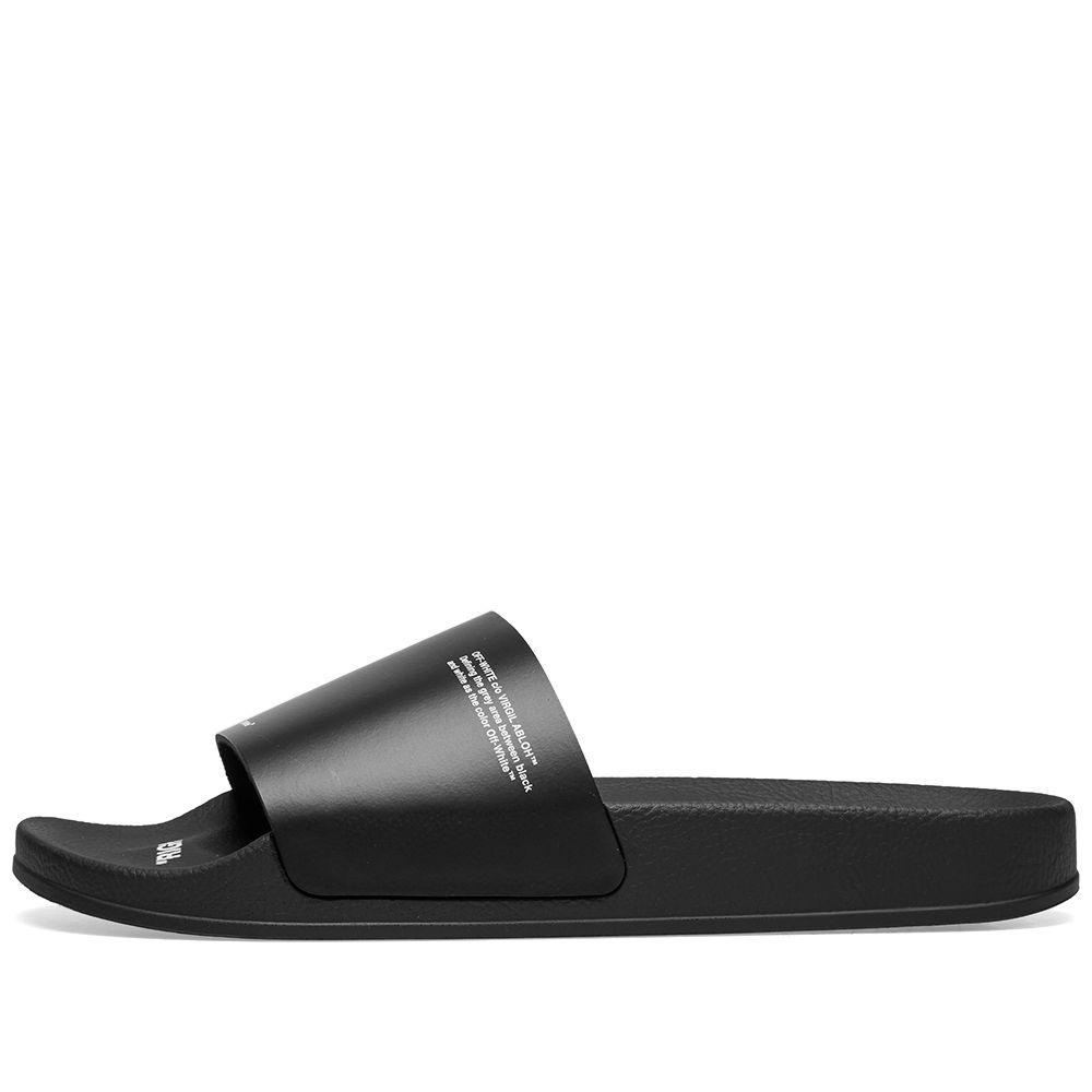 6159367e847b44 Off-White Corporate Slide Black