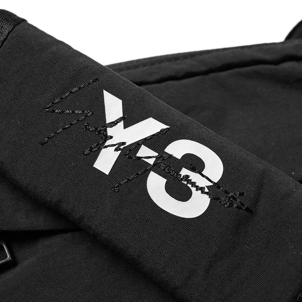 e2f0e31ef625 Y-3 Multi Pocket Bag Black   White