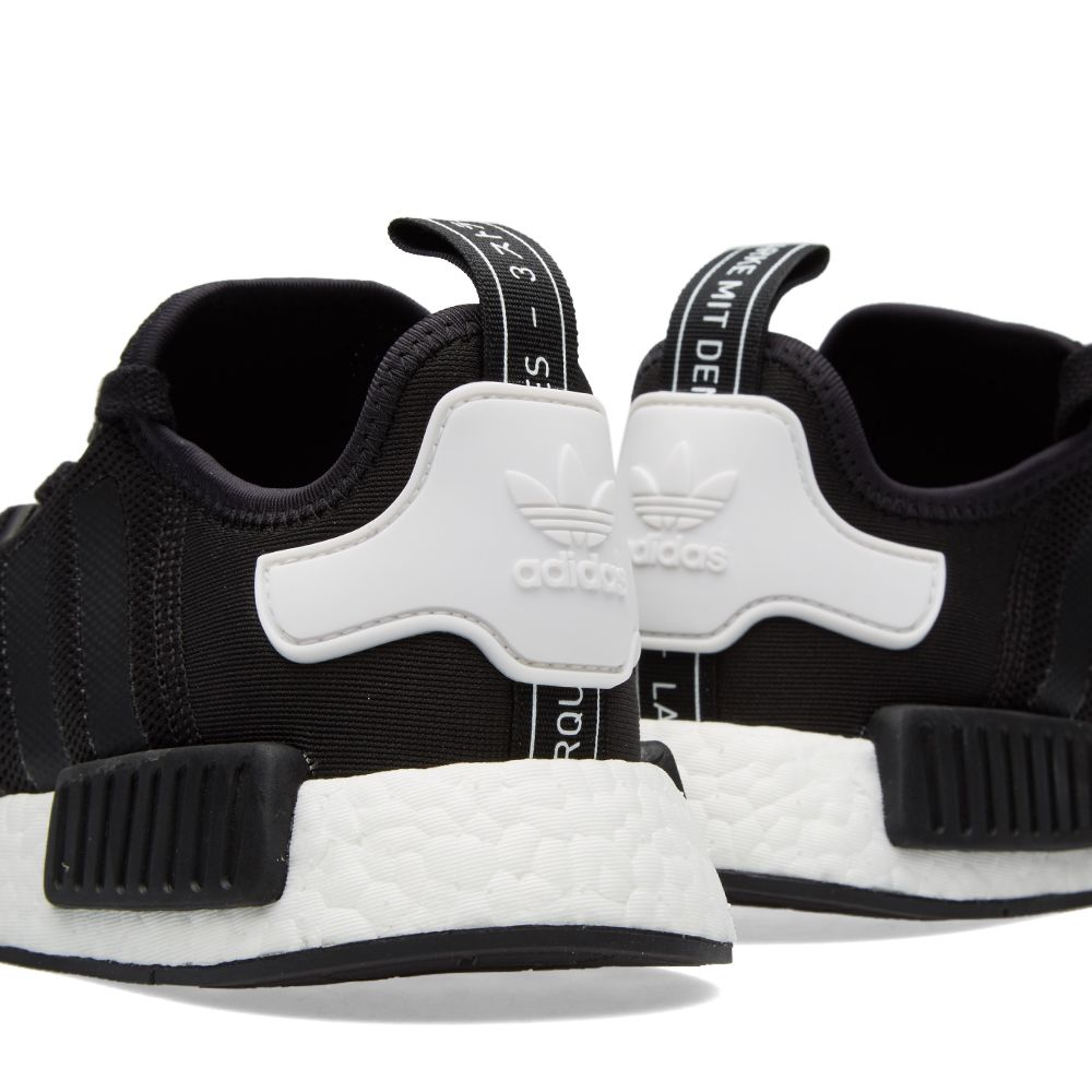size 40 25135 83fbe Adidas NMD Runner Core Black   White   END.