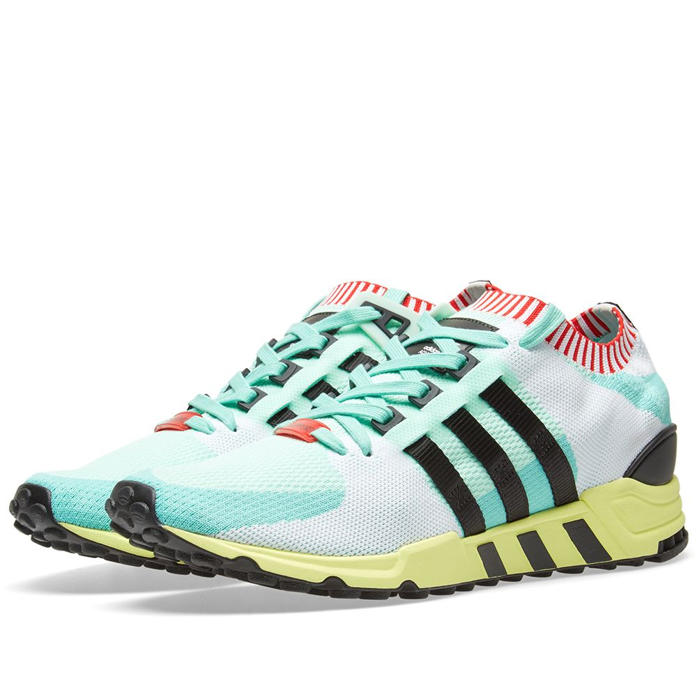 best sneakers 171a6 773aa Adidas EQT Support RF PK Frozen Green  Black  END.