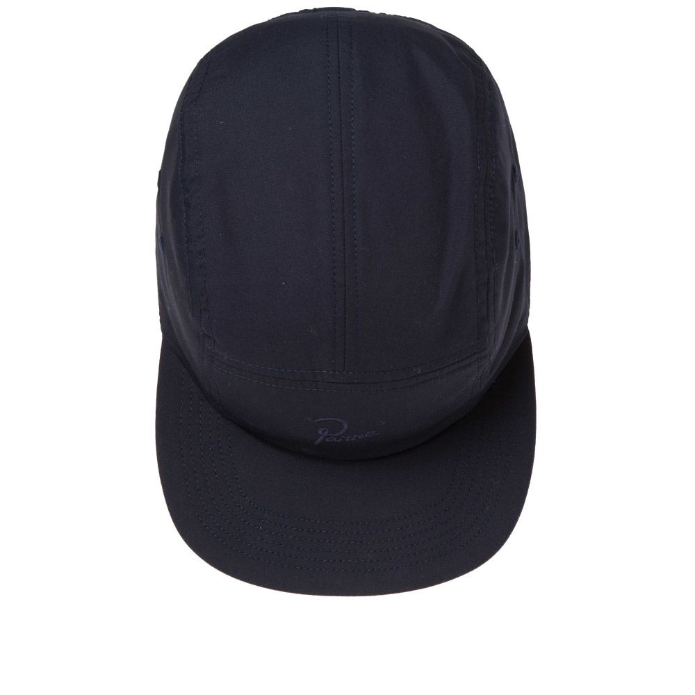 ae1a6cd9698 By Parra 5 Panel Signature Logo Volley Cap Navy Blue
