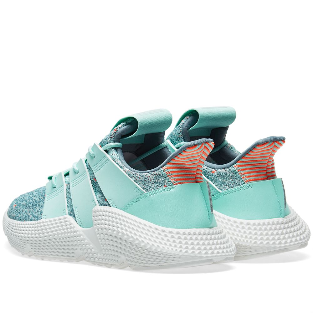 e7e2649a7cfcba Adidas Prophere W Clear Mint   Solar Red