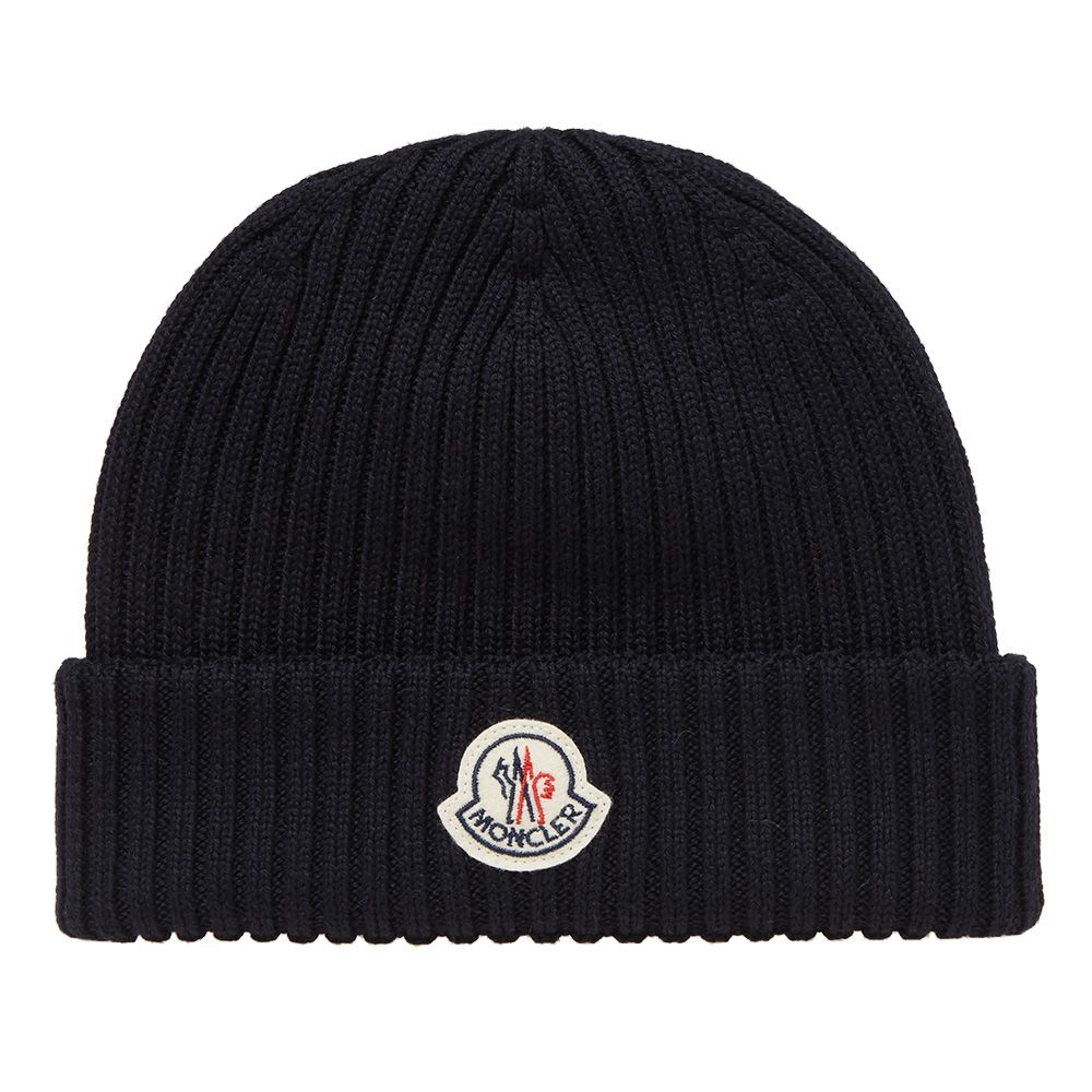 9231db68ddc homeMoncler Berretto Basic Ribbed Beanie. image. image. image